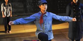 "John Gomez Goodway plays Li Cunxin in ""The Peasant Prince"". Photo by Heidrun Lohr"