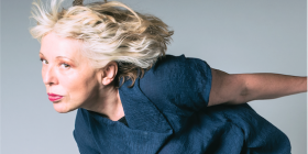 "Jazz singer Barb Jungr… ""I feel with the songs, I try not to analyse them intellectually."" Photo by Steve Ullathorne"