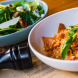 Fazzoletti… the smoked pancetta, roast capsicum sugo, chilli oil and basil all packed a punch. Photo by Andrew Finch