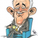 Prime Minister Malcolm Turnbull... stood up and said he's committed to tackle the issue. Caricature by Paul Dorin