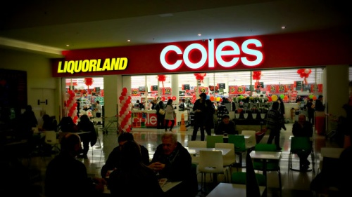 coles in the canberra centre