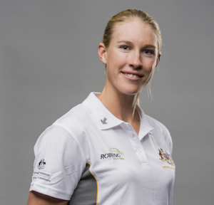 Rower Kim Brennan… unbeaten in the women's single sculls on the world stage since 2014.