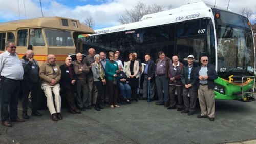90th anniversary of public transport in canberra
