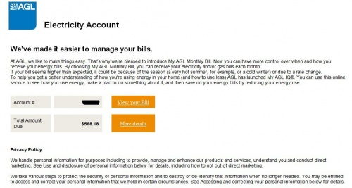 An example of the hoax email received by a customer. (1)