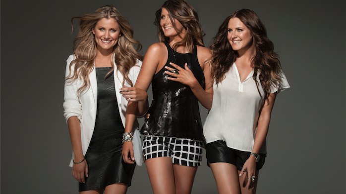 """The McClymont sisters… """"We chat to the audience, that's what country music is all about."""""""
