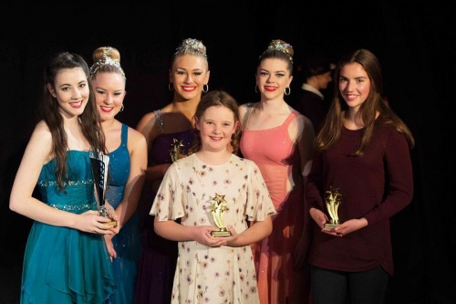 Winners (from left to right) Kaitlin Nihill, Emma Gaynor, Jessica Potter, Lara Cristofani, Sophie Highmore and Tamara Needham, photo  by Philip Meddows