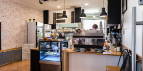 Little Garran café, photo by Andrew Finch