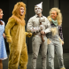 "Cast of ""The Wiz"". from left,  Emily Claxton (Dorothy), Connor Haas (Lion), Jack Hirst (Tinman) and Tennay Burgess (Scarecrow)."