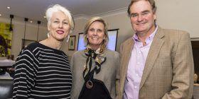 Genevieve Jacobs and Edwina and John Macarthur-Stanham