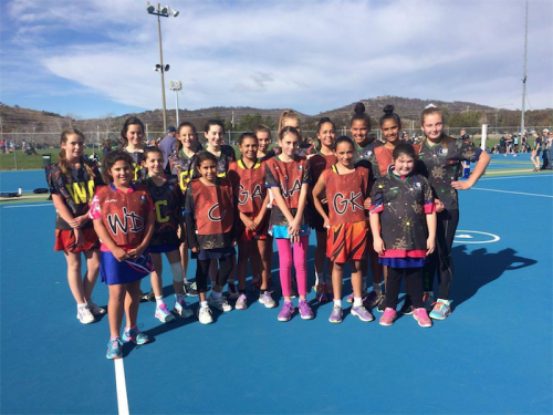 Tuggeranong Netball Association's Reconciliation Day games - Intermediate teams