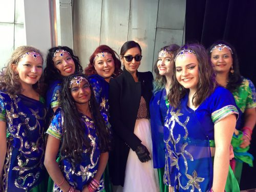 Bollywood Dimensions Team with Malaika Arora Khan