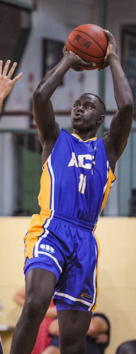 Basketballer Bul Kuol… secured a scholarship with the California Baptist University.