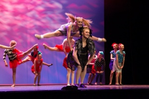 Last year's Dance Fest, Calwell High School. Photo by Art Atelier