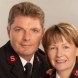 Major Geoff Freind and wife Lyn.