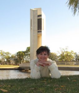 Lead carillonist, Lyn Fuller