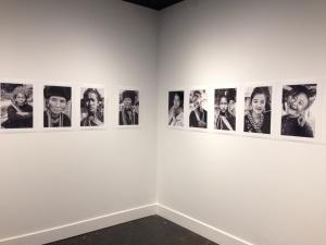 Parisa Applegarth's photographic installation.