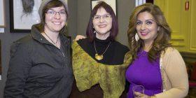 Tahleasin Parker, Liddy Timmins and Natasha Verma