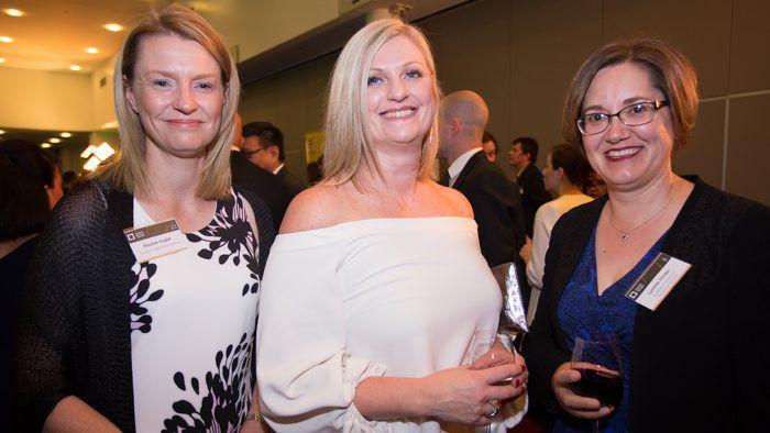 Pauline Hugler, Liesel Wett and Lynette Pinder