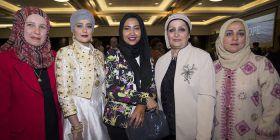 Saida Othman, Reem Al-Sharrah, Noura Almagnabi, Eman Al-Rubae and Hanan Attia