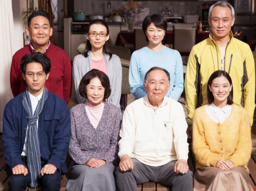 """Comedy-drama """"What a Wonderful Family""""... opening the Japanese Film Festival."""