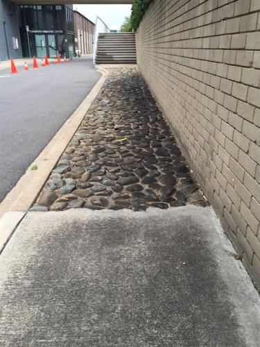 Civic footpath