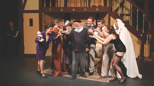 """Noises Off"". Photo by Helen Drum"
