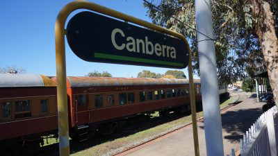A bid to save Canberra's steam trains