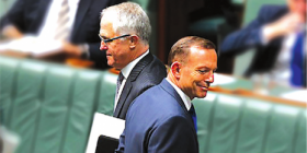 "The cover illustration of ""From Abbott to Turnbull: A New Direction?"""