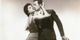 Tango legends Maria Nieves and Juan Carlos Copes.