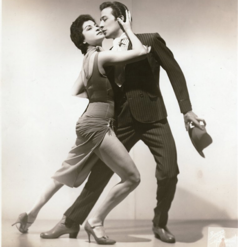 Tango legends Maria Nieves and Juan Carlos Copes.