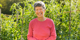"Isobel Crawford... ""Having manageable sections makes the garden feel less overwhelming."""