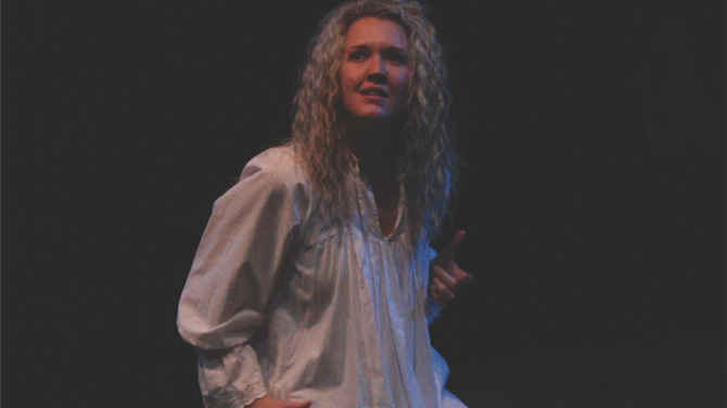 Jenna Roberts as Lady Macbeth.