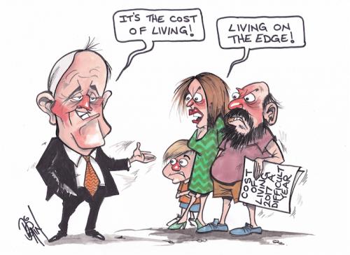 Cartoon by PAUL DORIN