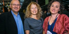 Peter and Jacqui Vardos and Narelle Phillips