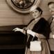 """Keren Dalzell (as Rosalinde von Eisenstein) and Andrew Barrow (as Gabriel von Eisenstein) in """"Die Fledermaus""""."""