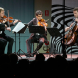 The Van Kuijk Quartet.  perform at the Fitters' Workshop. Photo by Peter Hislop.