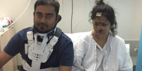 Kabir and Ema were involved in a crash near Goulburn on May 13.