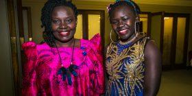 Julia Okunia and Dorcus Munduru