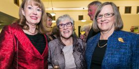 Rita Parker, Christine Daniel and Helen Doherty