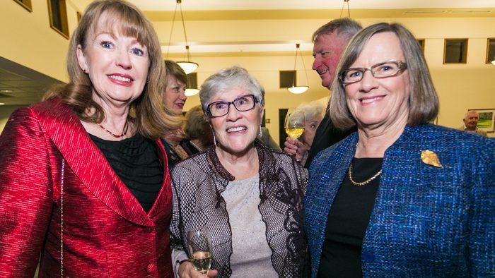 Rita Parker, Christine Daniel and Helen Doherty