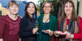 Tracey Robinson, Amy Cheng, Anika Stobart and Vanessa Whelan