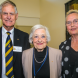 Bruce Trewartha OAM, Elizabeth Grant AM and Trish Keller OAM