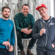 """Two of Capital Brewing Co's four partners, Nick Hislop (left) and Laurence Kain with brewer Wade Hurley… """"Investing in energy efficiency upfront will seriously reduce our utility consumption and carbon footprint,"""" says Nick. Photo by Maddie McGuigan"""