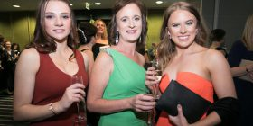 Tara Gower, Lisa Cargill and Kristen Wilson