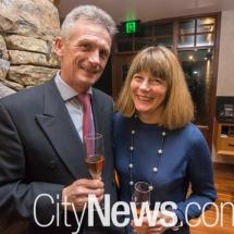 Alan Clark and Elizabeth Mitchell