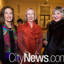 Ann de Woutych, Fiona Cotter and Marion Gillespie-Jones