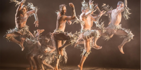 """Bangarra Dance Theatre's """"Bennelong'... """"I drop everything when I'm contacted by Bangarra,"""" says composer Steve Francis. Photo by Vishal Pandey"""