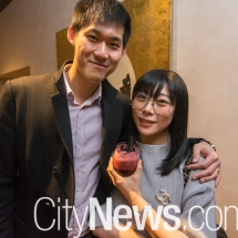 Bill Wu and Connie Huang
