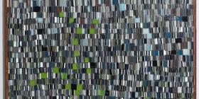 Brenden Scott-French, 'View from Window, Koonunga' - kiln formed glass