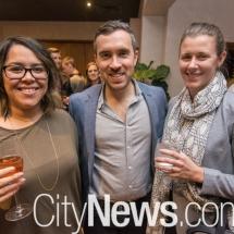 Dannica Clayton, Alex MacArthur and Hannah Gill
